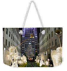 The Tree At Rockefeller Center Weekender Tote Bag