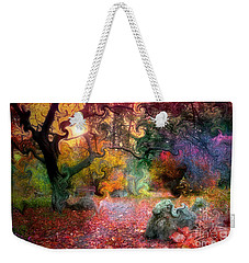 The Tree Where I Used To Live Weekender Tote Bag by Tara Turner