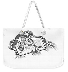 The Trials Of Life Weekender Tote Bag