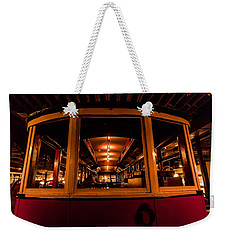 Weekender Tote Bag featuring the photograph The Trolley by Steven Reed