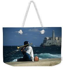 The Trombonist Weekender Tote Bag