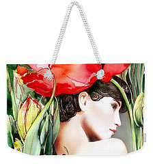 The Tulip Weekender Tote Bag