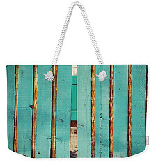 The Turquoise Gate Weekender Tote Bag by Holly Blunkall