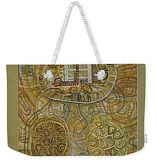 The Turtle Snake Weekender Tote Bag