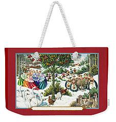 The Twelve Days Of Christmas Weekender Tote Bag