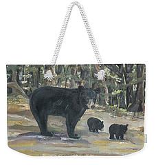 Cubs - Bears - Goldilocks And The Three Bears Weekender Tote Bag