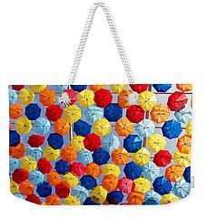 The Umbrella Sky Weekender Tote Bag