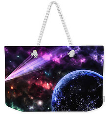 The Undiscovered Planet  Weekender Tote Bag