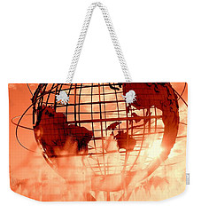 The Unisphere And Fountains Weekender Tote Bag