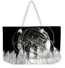 The Unisphere's 50th Anniversary Weekender Tote Bag by Ed Weidman