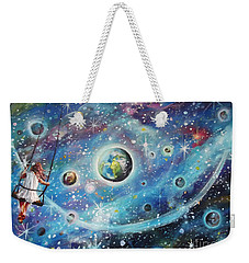 The Universe Is My Playground Weekender Tote Bag