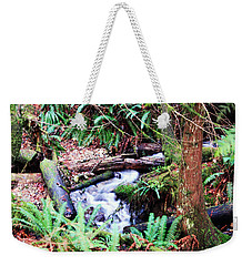 The Unknown Creek Weekender Tote Bag