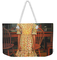 The Valentine Dress Weekender Tote Bag by Thu Nguyen