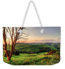 The Valley Weekender Tote Bag by Ray Warren