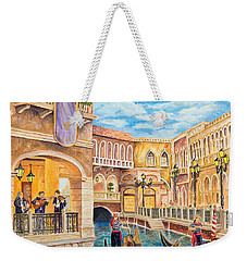 The Venetian Canal  Weekender Tote Bag