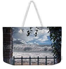 The View Weekender Tote Bag by Athala Carole Bruckner