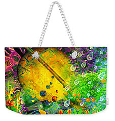 The View From A Moon Weekender Tote Bag