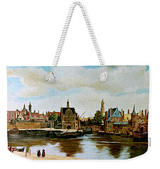 The View Of Delft Weekender Tote Bag