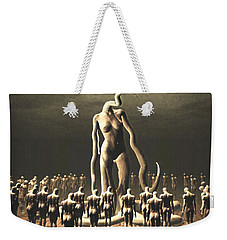 The Vile Goddess Weekender Tote Bag by John Alexander