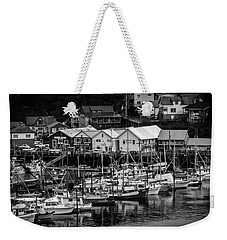 The Village Pier Weekender Tote Bag by Melinda Ledsome