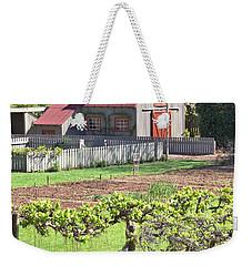 The Vineyard Barn Weekender Tote Bag by Gordon Elwell