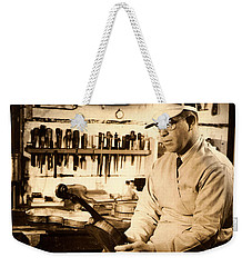 The Violin Maker Weekender Tote Bag