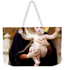 The Virgin Of The Lilies Weekender Tote Bag