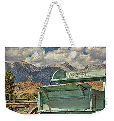 The Wagon Weekender Tote Bag by Peggy Hughes