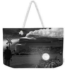The Wait - Panoramic Weekender Tote Bag