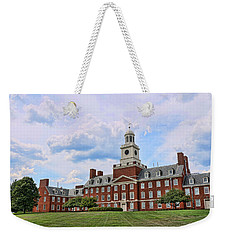 The Waksman Institute Of Microbiology Weekender Tote Bag by Allen Beatty