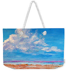 The Walk Weekender Tote Bag by Teresa Wegrzyn