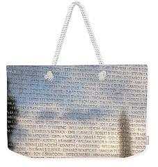 The Wall Weekender Tote Bag