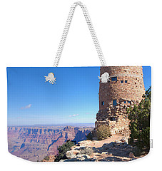 Weekender Tote Bag featuring the photograph The Watchtower by John M Bailey