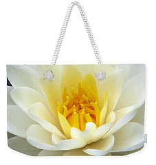 Weekender Tote Bag featuring the photograph The Water Lilies Collection - 03 by Pamela Critchlow