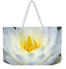 Weekender Tote Bag featuring the photograph The Water Lilies Collection - 05 by Pamela Critchlow