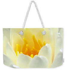 Weekender Tote Bag featuring the photograph The Water Lilies Collection - 10 by Pamela Critchlow