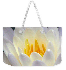 Weekender Tote Bag featuring the photograph The Water Lilies Collection - 11 by Pamela Critchlow