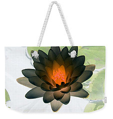Weekender Tote Bag featuring the photograph The Water Lilies Collection - Photopower 1035 by Pamela Critchlow