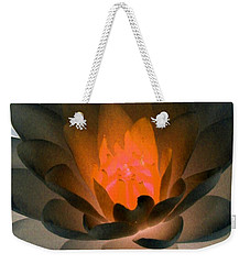 Weekender Tote Bag featuring the photograph The Water Lilies Collection - Photopower 1036 by Pamela Critchlow
