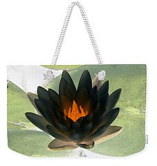 Weekender Tote Bag featuring the photograph The Water Lilies Collection - Photopower 1037 by Pamela Critchlow