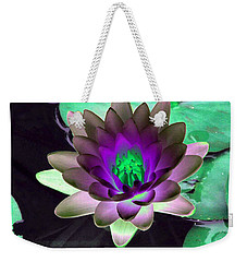 Weekender Tote Bag featuring the photograph The Water Lilies Collection - Photopower 1114 by Pamela Critchlow