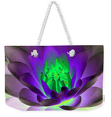 Weekender Tote Bag featuring the photograph The Water Lilies Collection - Photopower 1115 by Pamela Critchlow