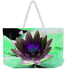 Weekender Tote Bag featuring the photograph The Water Lilies Collection - Photopower 1116 by Pamela Critchlow