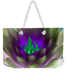 Weekender Tote Bag featuring the photograph The Water Lilies Collection - Photopower 1117 by Pamela Critchlow