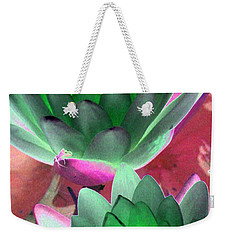 Weekender Tote Bag featuring the photograph The Water Lilies Collection - Photopower 1121 by Pamela Critchlow