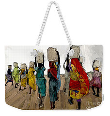 The Water Workers Weekender Tote Bag