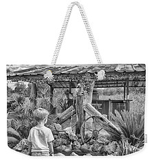 Weekender Tote Bag featuring the photograph The Watering Hole by Howard Salmon