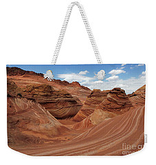 The Wave Center Of The Universe Weekender Tote Bag by Bob Christopher