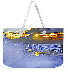 The Wave Which Got Me Weekender Tote Bag by Miroslava Jurcik