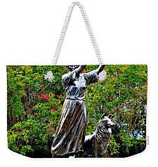 The Waving Girl Of Savannah Weekender Tote Bag